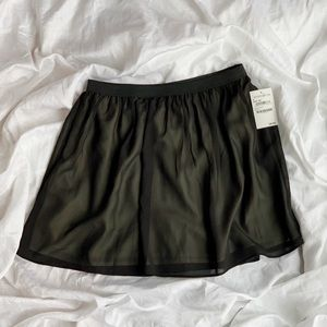 Black Flowy Skirt NWT Never Worn